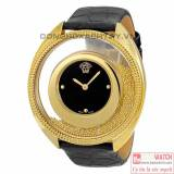 Versace Destiny Spirit Black Dial Gold-plated Stainless Steel 86Q70D008 S009