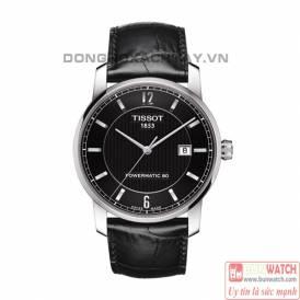 TISSOT Classic Titanium Powermatic 80 Black T0874074605700