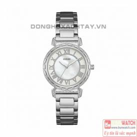 Guess W0831L2 Women South Hampton Rose Gold Plated Bracelet Watch
