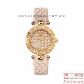 Versace Women's VQM020015 Swiss Quartz White Watch
