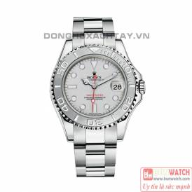 ROLEX YACHT-MASTER OYSTER STEEL AND PLATINUM 168622-0004