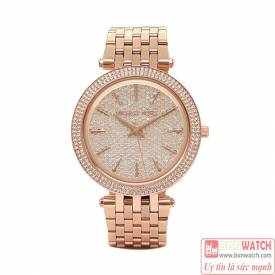 MICHAEL KORS Darci Crystal Pave Dial Ladies Watch MK3439