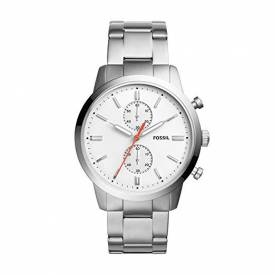 Fossil Townsman Chronograph White Dial Men's Watch FS5346‎