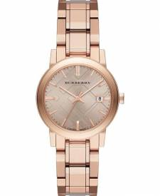 Burberry Bu9104 The City Rose Gold Ladies Watch 34mm