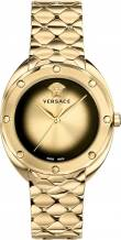 VERSACE VEBM00618 SHADOV GOLD-TONE WATCH 38MM
