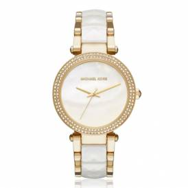 Michael Kors MK 6400 Women's Parker Gold-Tone Watch