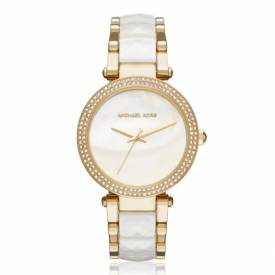 Michael Kors MK 6400 Women's Parker Gold-Tone Watch