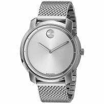 Movado-Bold-Silver-Dial-Stainless-Steel-Mesh-3600260-3600241-authentic