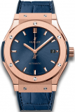 Hublot Classic Fusion Blue King Gold 511.OX.7180.LR Replica 1:1