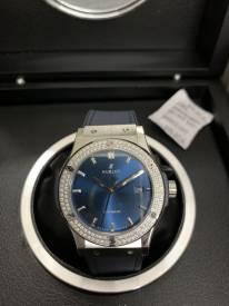 Hublot 542.NX.7170.NR Classic Fusion Titanium Diamond Blue Replica