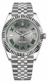 Rolex Datejust 126334-002 Mặt Số Wimbledon Tối Replica