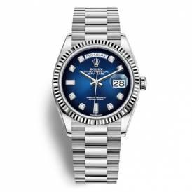ROLEX Day-Date Automatic Blue Diamond Dial 128239 Replica
