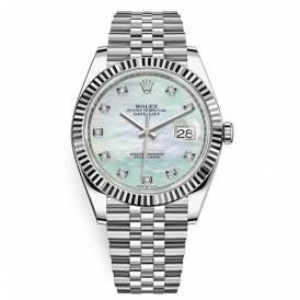 Rolex Datejust White MOP Diamond Dial 126334-003 Replica