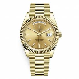 Rolex 228238 Day-Date Champagne Index 40mm Yellow Gold Gold Replica