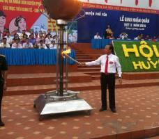 Hội Tòng quân Huyện Phổ Yên - 2014