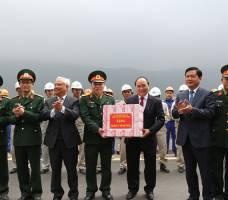 Thông xe QL1A đoạn Nghi Sơn-Cầu Giát