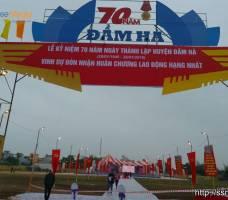 Tổ chức sự kiện thành lập Đầm Hà - Quảng Ninh