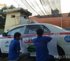 Quảng cáo trên xe taxi Group - GAMUDA