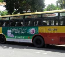 Quảng cáo xe Bus Đà Nẵng khách hàng UIP