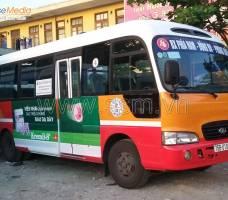 Quảng cáo xe Bus TT Huế khách hàng UIP
