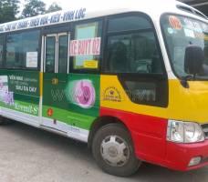 Quảng cáo xe Bus Thanh Hóa khách hàng UIP