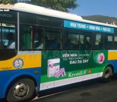 Quảng cáo xe Bus Nha Trang khách hàng UIP