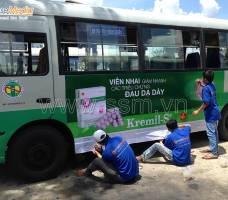 Quảng cáo xe Bus Bến Tre khách hàng UIP