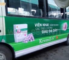 Quảng cáo xe Bus Tiền Giang khách hàng UIP
