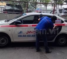 Quảng cáo trên taxi Group khách hàng Hafele