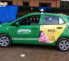 Quảng cáo taxi Mai Linh Huế Mega Wecare