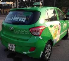 Quảng cáo taxi Mai Linh Phú Thọ Mega Wecare