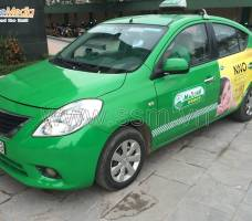 Quảng cáo taxi Mai Linh Nghệ An Mega Wecare