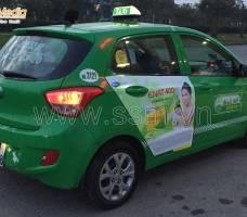 Quảng cáo taxi Mai Linh Nam Định Mega Wecare