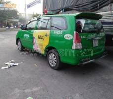 Mega quảng cáo taxi Mai Linh tại An Giang