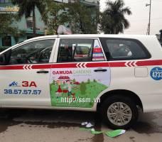 Gamuda quảng cáo trên taxi Group tại Đại K