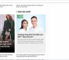 Couple TX quảng cáo báo mạng ra mắt BST mới