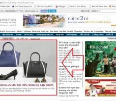 Mizino đăng bài PR - Banner sản phẩm mới