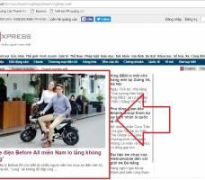 Before All đăng PR dòng sản phẩm xe đạp điện