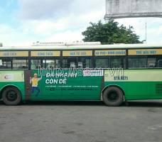 FE CREDIT quảng cáo trên xe bus tại TP HCM