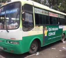 FE CREDIT quảng cáo trên xe bus tại Bình Dươn