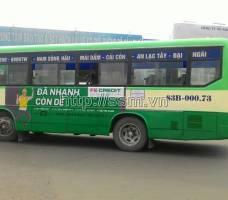 FE CREDIT quảng cáo trên xe bus tại Cần Thơ