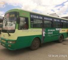 FE CREDIT quảng cáo trên xe bus tại Đồng Nai