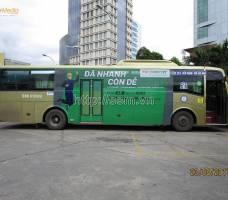 FE CREDIT quảng cáo trên xe bus nội đô TP HCM