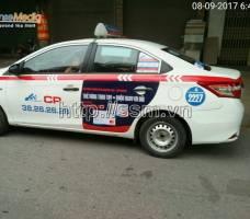 Thẻ đồng thương hiệu Gamuda trên taxi Group