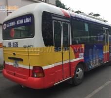 Gamuda Gardens quảng cáo trên bus Bắc Ninh