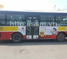Quảng cáo trên xe bus tại Hà Nội - Neptune