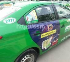 360Mobi quảng cáo trên taxi Mai Linh TP HCM