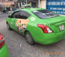 360Mobi quảng cáo trên taxi Open 99  TP HCM