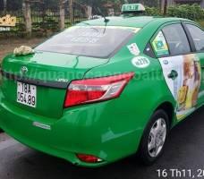 Mega quảng cáo trên taxi Mai Linh Nam Định