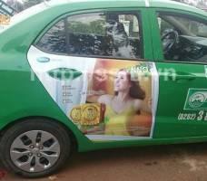 Mega quảng cáo trên taxi Mai Linh Đắk Lắk